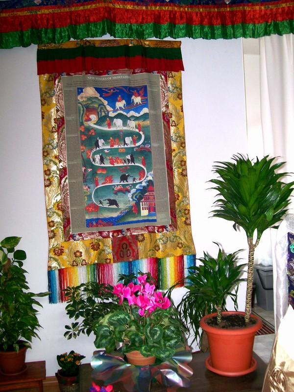 Thangka di shinè