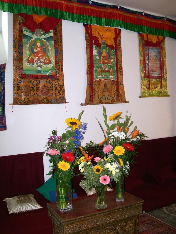Thangke di Buddha